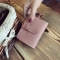 The New Ms Wallet Fashion Simple Multi-card Bit Student Female Wallet Card Pack Coin Purse pink one size