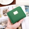 Ms Wallet Short Section Simple New Product Sequins Wallet Female Student Fashion Coin Purse green one size
