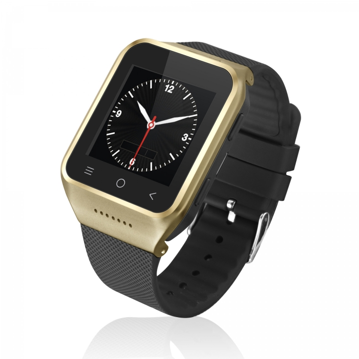 intelligent Mobile phone Watch phone information Synchronize Step Heart rate Bluetooth wristband gold one size