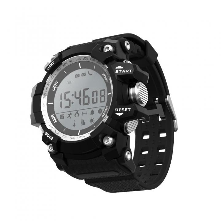 Intelligent Watch Movement Watch Step Air Pressure Altitude Outdoor Movement Waterproof Wristband black one size