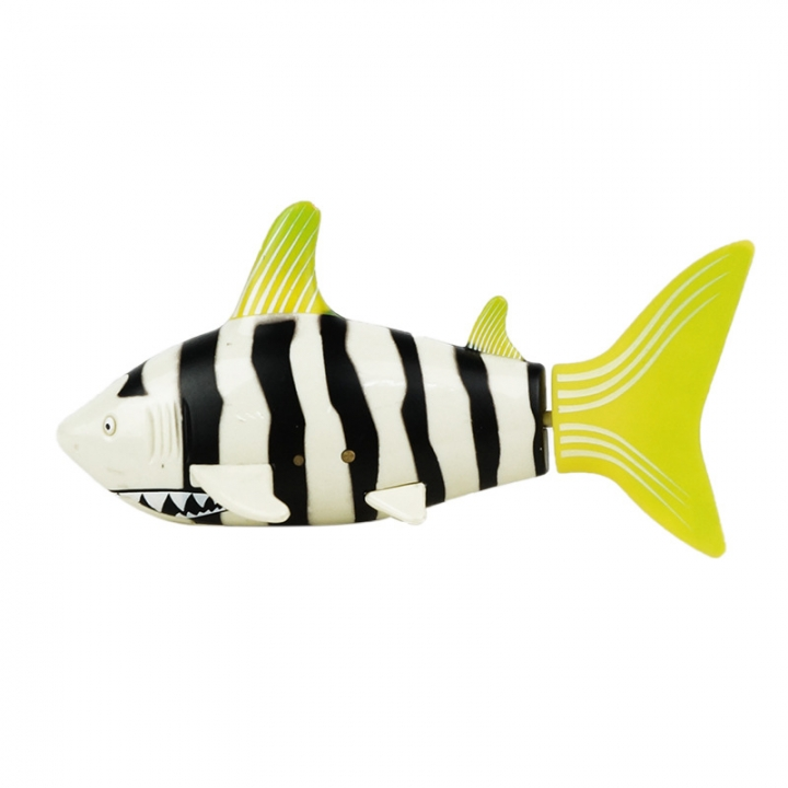 Ultra-small Charge Remote Control Fish Child Toy Magical Plastic Toy yellow white 10.6*4.5*5.7
