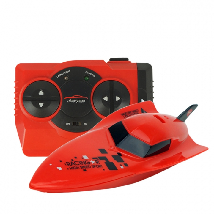 Rowing High Horsepower Remote Control Ship Child Toy Child Gift Intelligence Toy red 16*5*3.5
