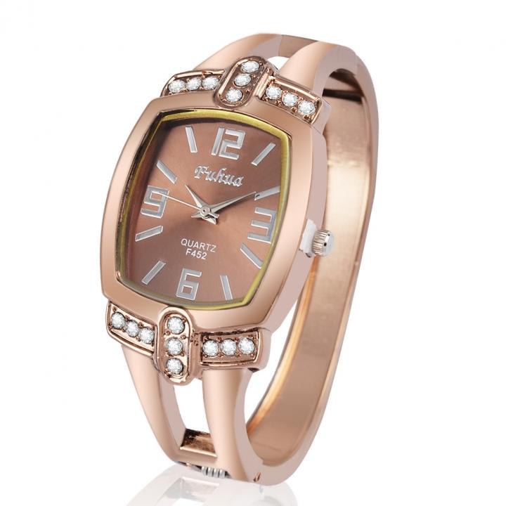 Ms Bracelet Watch Fashion Rose Gold Trend Fashion Barrels Quartz Watches rose gold