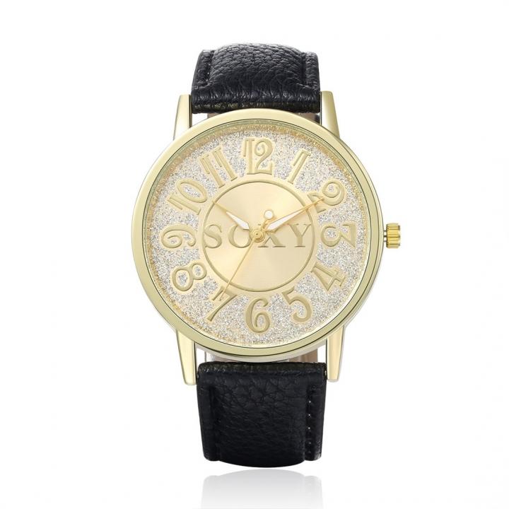 Men Belt Watch Upscale Business Fashion trend Quartz Watch black men