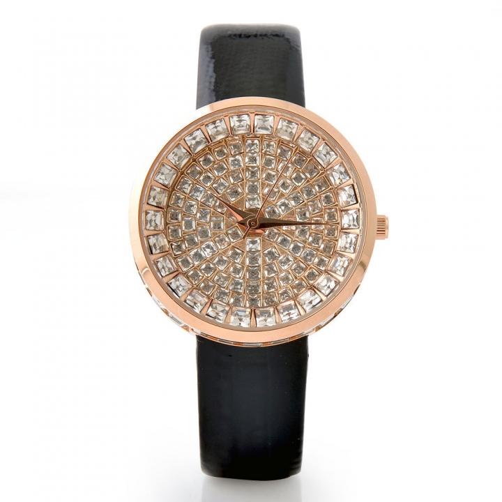 Sky Stars Crystal Diamond Leisure Fashion Quartz Upscale Ms Watch black