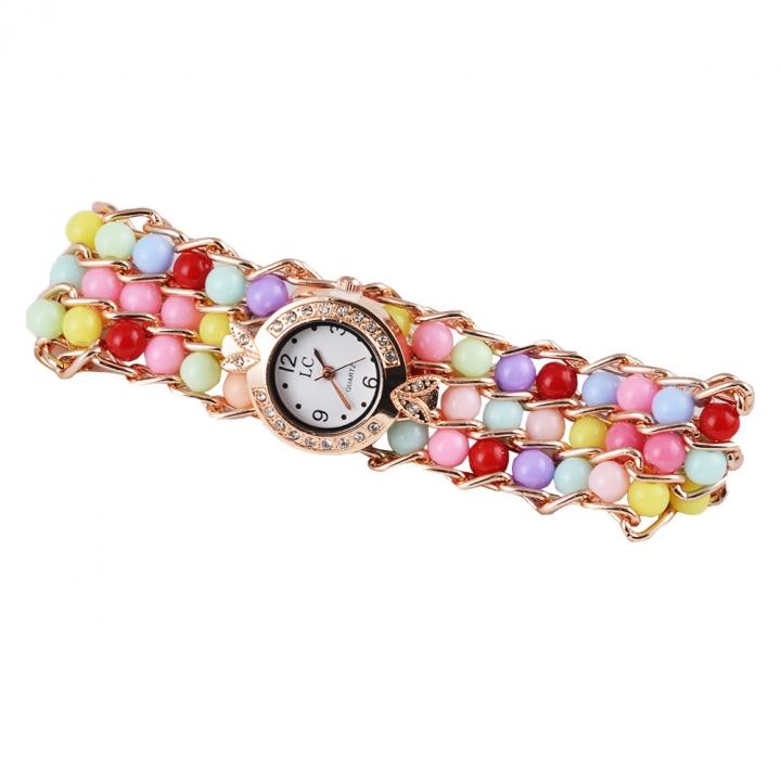 The New Simple Digital Watch Male Retro Harajuku Men Belt Watch color
