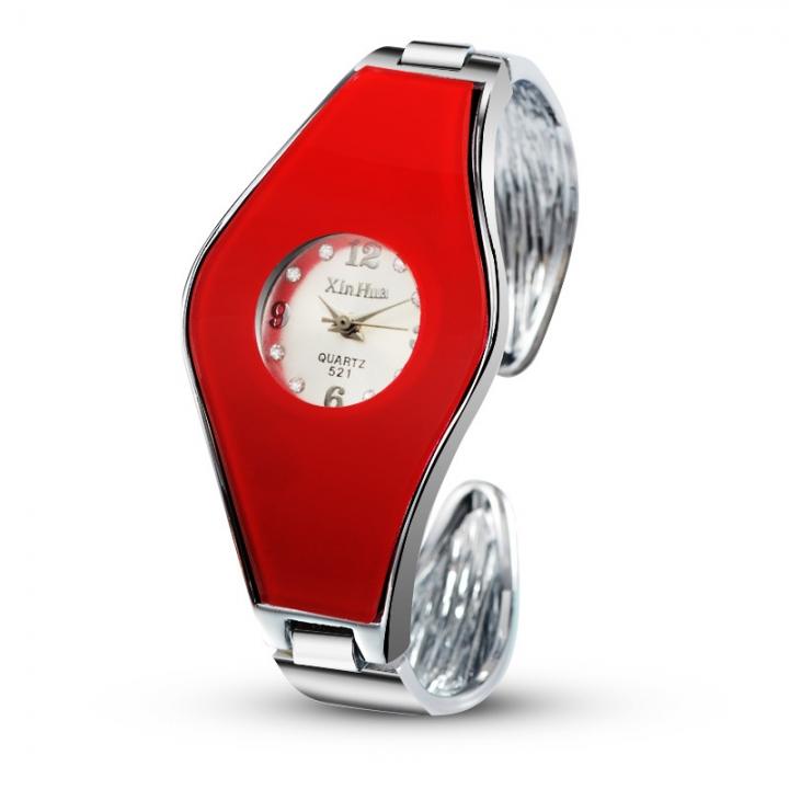Ms Bracelet Watch Fashion Wild Ms Fashion Small Dial Quartz Watch red