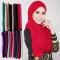 Muslim Jersey Monochrome Women Scarf Arab Women Jersey Hijab Accessories 30