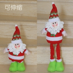 Christmas Decorations Telescopic Rods Three-dimensional Santa Claus Christmas Gift Supplies old man one size