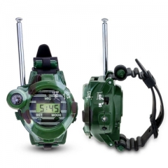 Seven in one Walkie - talkie Wireless Boy Child Toy Military Watch Camouflage Toy Camouflage one size