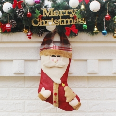 Christmas Ornaments Supplies Send Friends Christmas Stocking Christmas Candy bags old man one size