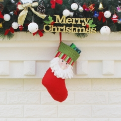 Christmas decoration Layout Supplies new Year Gift Christmas stocking Gift bag old man one size