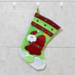 Christmas Decoration Supplies Christmas Gift Bag Sock Accessories Gift bag Christmas Socks old man one size