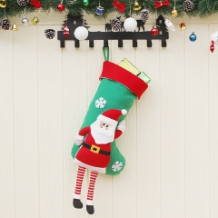 Christmas Decoration Supplies Christmas Old Man Sock Pendant Christmas Decoration Candy Bags old man one size