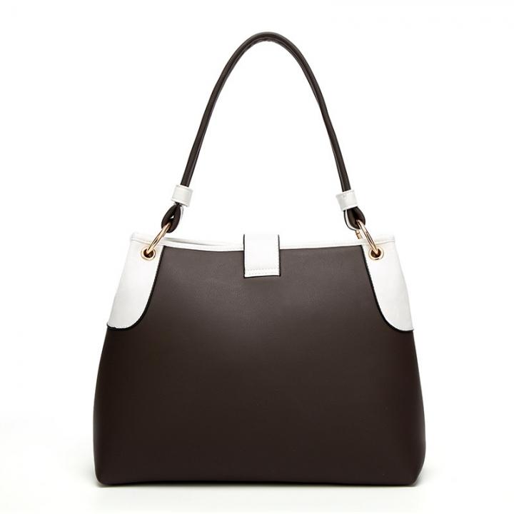 The New Ladies bag Simple Tassel Portable Shoulder Bags Fashion Big bag brown one size