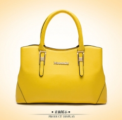 Lady Bags Cross Pattern The New Fashion Handbag Shoulder Messenger Ladies bag yellow one size