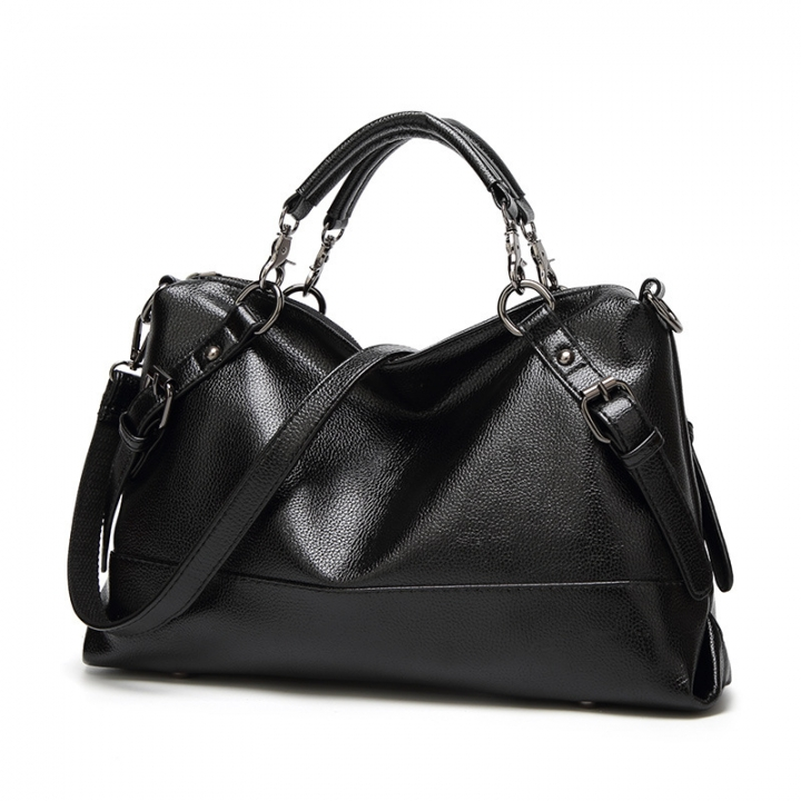 The New Trend Boston Lady Bags Pillow Portable Shoulder Messenger Bag Western Style Lady Bags black one size