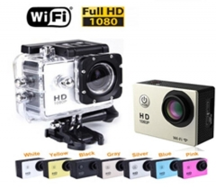 outdoor Sport camera Camera 30M waterproof Mini Camera Sports DV Digital camera black one size