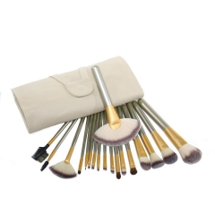 Ms Makeup Essential 18 Branches Beige Makeup Brush Set Make-up Makeup Brush white