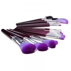 Ms Fashion Makeup Tools 16 Branches Purple Makeup Brush Cosmetic Set of Brush purple