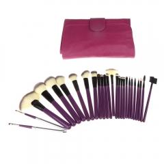 Ms Fashion 24 Purple Makeup Brush set personality Makeup Tools purple