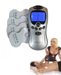 Body Shaper Slimming Tens Acupuncture Massager low Frequency Pulse Massage Meridian Therapy Blue screen