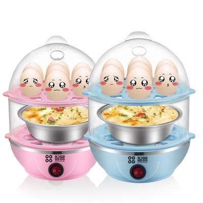 Household Egg Steamer Multifunction Anti-dry Egg Boiler Mini Egg Machine