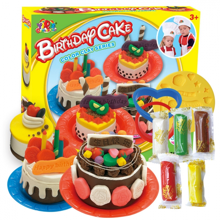 Ice Cream Choi Clay 3d Plasticine Flour Choi Clay Mold Children Clay Toy Gift 5815c one size