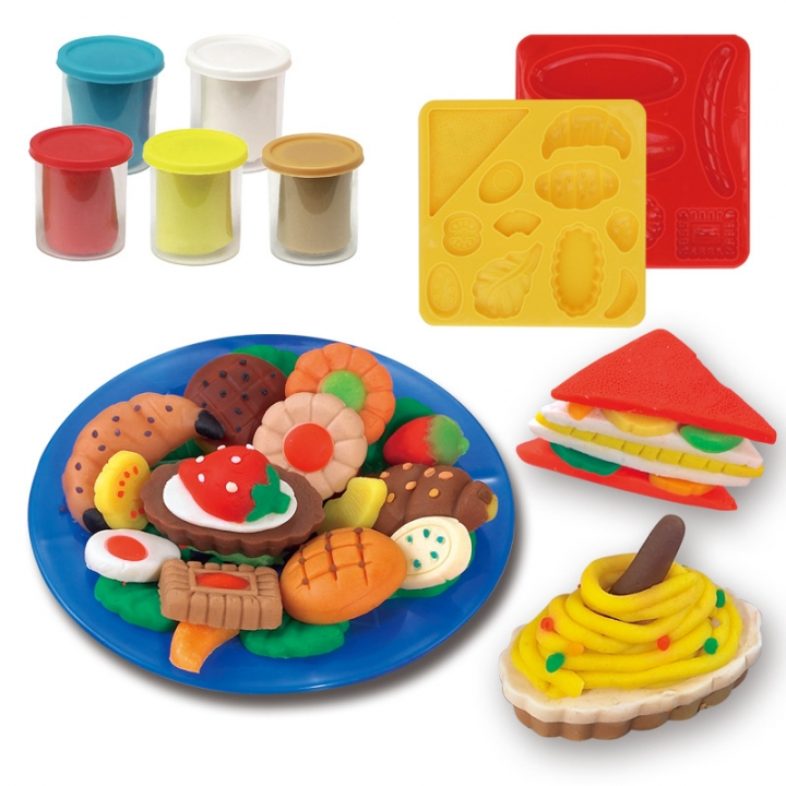 Ultralight Clay Child Space Mud 3d non-toxic Choi Clay Like Skin Clay Mold Plasticine 5804B one size