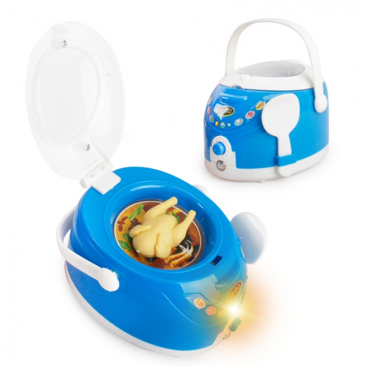 Blue Appliances Child Mini Going Home toy Simulation Appliances Electric Function 6 one size