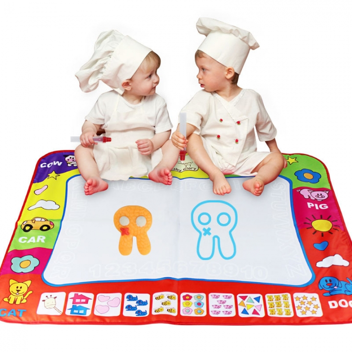 Child Oversized Magical Magic Water Canvas Brain Game Safety Environmental Protection Non-toxic colour one size