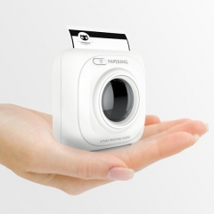 Mini Bluetooth Printer Meow Meow Machine Universal Phone at Any time Anywhere Can Print white
