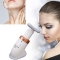Superior Neckline Slimmer Neck Exerciser Chin Massager Thin Jaw Reduce Double white