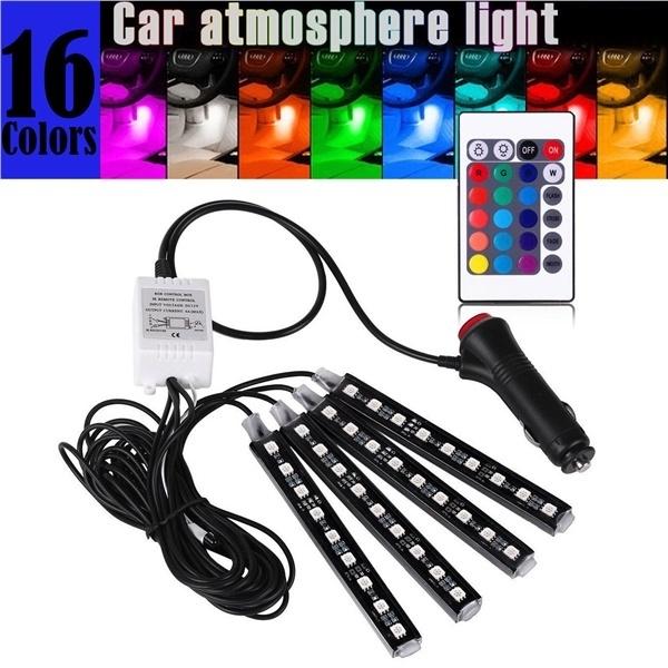 car Ambient Light Inside the car Decorative lights Foot LED lights Colorful Interior RGB lighting