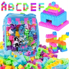 Child Boxed Variety Building Blocks Plastic Assemble Desktop Brain Game Boy Girl Toy colour one size