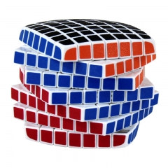 High Quality limited Edition Seven-order Magic Cube Profession Game Child Brain Game colour one size