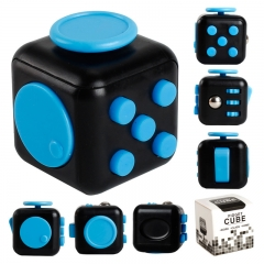 Fidget Cube Anti-irritability Ease Pressure Concentrated Attention Dice Rubik's Cube Square random color one size