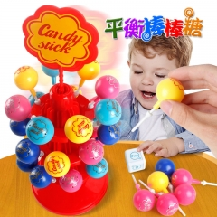 Lollipops Table Games Leisure Get Together Parent-child Interaction Brain Game red one size