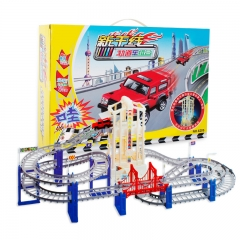 Variety Thomas Subway Assemble Electric Multi-layer Track Brain Game Creative diy toys 1 one size