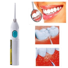 Electronics Beautiful Teeth- Electric Floss Pick Dental Care Power Whitening Flosser Oral Irrigator white