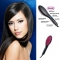 Simply Straight Ceramic Hair LCD Straightener Comb Brush As Seen black one size