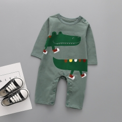 Western Style Fashion Long Sleeves Baby Romper Jumpsuit child Clothing a 80 yards