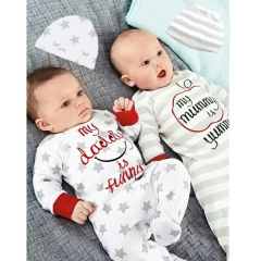 Western Style Baby Long Sleeves Lovely Baby Clothing Romper Long Sleeves Cotton Clothing a 80 yards