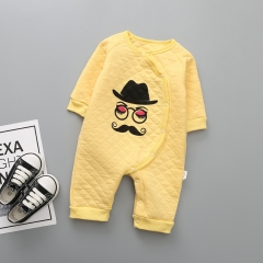 Baby Fashion Personality Clothing Romper Cotton Long Sleeves Siamese Clothing a 80 yards