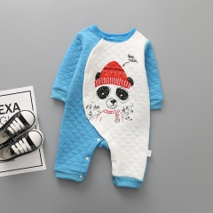 Baby Fashion Long Sleeves Romper Climb Clothes Siamese Clothing Baby Clothes a 80 yards