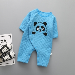 The New Baby Fashion Cotton Romper Lovely Panda Climb Clothes Siamese Clothing Clothes a 80 yards