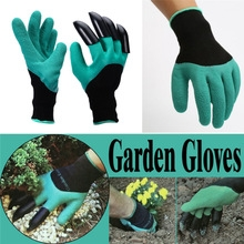 Digging Gloves Planting Claws Digging Protection Gloves Insulated Gloves Garden Gloves black blue