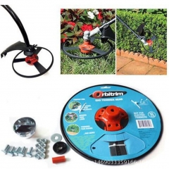 Home Garden Orbitrim Trimmer Head No String Gas Trimmer Solid Lawn Care Tool Kit