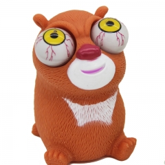 Vent Spoof Burst Eyes toy Wolf One Piece Variety Cartoon Tricky Winking Doll toy 1 one size