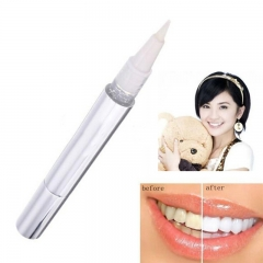 Household Ms Men tooth White pen Teeth   Whitening Pen tooth Clean White pen silver